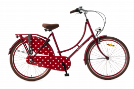 Popal Omafiets 26 inch N3 - Rood