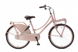 Popal Daily Dutch Basic Meisjesfiets 24 inch - Zalm