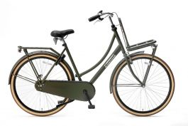 Popal Daily Dutch Basic Damesfiets 28 inch - Army Green