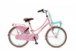 Popal Daily Dutch Basic Meisjesfiets 22 inch - Mint Roze
