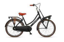 Altec Dutch Transportfiets 24 Inch N3 - Mat Zwart