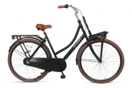 Altec Nostalgia Transportfiets 28 inch N3 - Mat Zwart