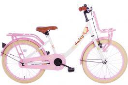 Spirit Daisy Meisjesfiets 22 inch - Wit / Roze