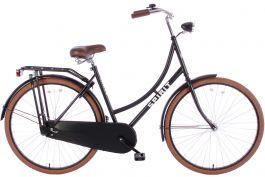Spirit Basic Omafiets 28 inch - Mat-Zwart