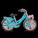 Popal Daily Dutch Basic Meisjesfiets 22 inch - Turquoise Roze