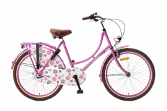 Popal Omafiets 24 inch N3 - Roze