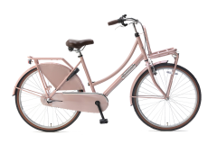 Popal Daily Dutch Basic+ Meisjesfiets 26 inch - Zalm