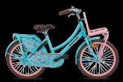 Popal Daily Dutch Basic Meisjesfiets 22 inch - Bloom Turquoise