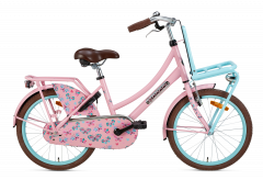 Popal Daily Dutch Basic Meisjesfiets 20 inch - Mint Roze