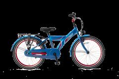 Popal Funjet Jongensfiets 22 inch N3 - Blauw / Rood