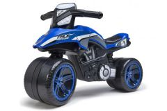 Falk Racing Team Moto - Unisex - Blauw - Loopfiets