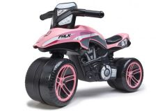 Falk Racing Team Moto - Unisex - Roze - Loopfiets