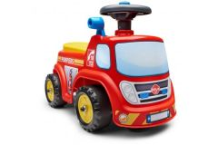Falk Fireman Ride-on - Unisex - Rood Geel - Loopauto