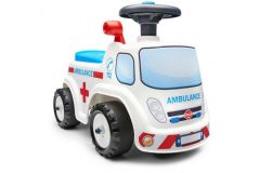 Falk Ambulance Ride-on - Unisex - Wit - Loopauto