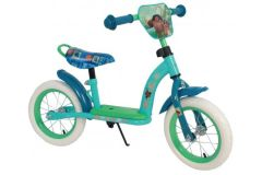 Disney Vaiana Loopfiets - Meisjes - 12 inch - (Mint) Blauw/Groen - Deluxe