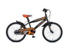 Altec Super Bomber 20inch Jongensfiets Zwart-Oranje 2020  Nieuw
