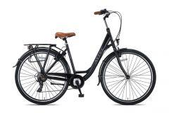 Altec Travel 28inch Damesfiets 50cm Zwart 2020 Nieuw
