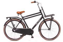 Altec Vintage 28inch Transportfiets N-3 Heren 61cm Mat Zwart *** ACTIE UITVERKOOP ACTIE  ***