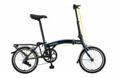 Mosso Town Vouwfiets 16 inch - Mat Blauw