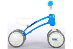 QPlay Cutey Ride On Loopfiets - Jongens en Meisjes - Blauw