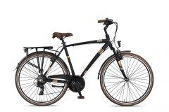 Umit Ventura 28 inch Herenfiets 56cm V-brakes Black/ Brown