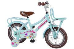 Volare Lovely Stars 12 inch meisjesfiets Mint Blauw 95% afgemonteerd