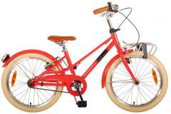 Volare Melody Kinderfiets - Meisjes - 20 inch - Pastel Rood - Twee Handremmen - Prime Collection