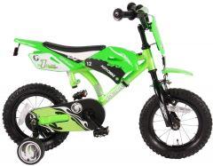 Volare Motobike Kinderfiets - Jongens - 12 inch - Groen