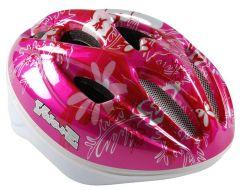 Volare Fietshelm Deluxe Vlinder - Roze