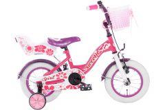Spirit Sweetie 12 inch Meisjesfiets - Roze/Paars