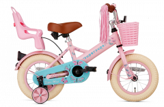 SuperSuper Little Miss Meisjesfiets 12 inch - Roze