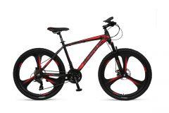 Umit Accrue Mountainbike 27.5 inch 21V - Zwart / Rood