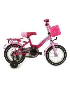 meisjesfiets 12 inch roze