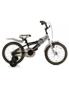 Popal Bike 2 Fly Jongensfiets 16 inch - Zilver/Zwart