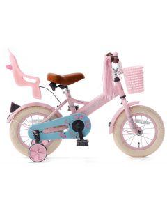 Popal Little Miss Meisjesfiets 12 inch - Roze