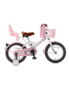 Popal Little Miss Meisjesfiets 14 inch - Wit