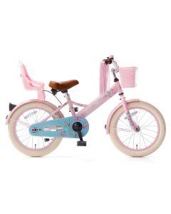Popal Little Miss Meisjesfiets 16 inch - Roze