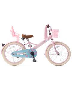 Popal Little Miss Meisjesfiets 18 inch - Roze