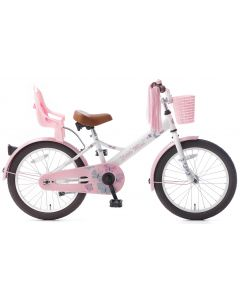 Popal Little Miss Meisjesfiets 18 inch - Wit