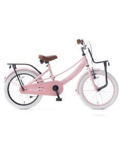 Popal Lola Meisjesfiets 16 inch - Roze Zwart