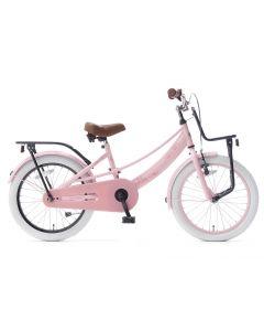 Popal Lola Meisjesfiets 20 inch - Roze Zwart