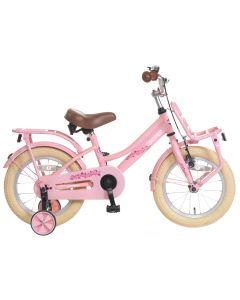 Popal Meisjesfiets Cooper 14 inch - Roze