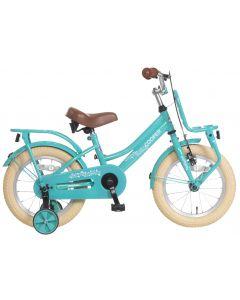 Popal Meisjesfiets Cooper 14 inch - Turquoise