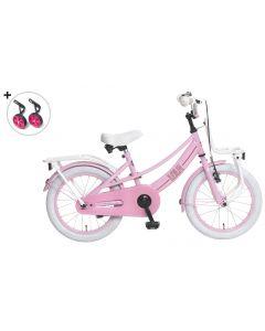 Popal Meisjesfiets Lola 16 inch - Roze