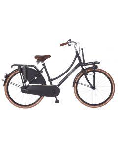 Transportfiets 26 inch  Daily Dutch - Zwart