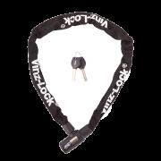 Vinz Ventoux Fietsslot 90cm - Zwart