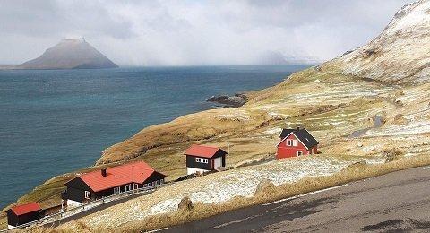 Fietsen op de Faeröer Eilanden