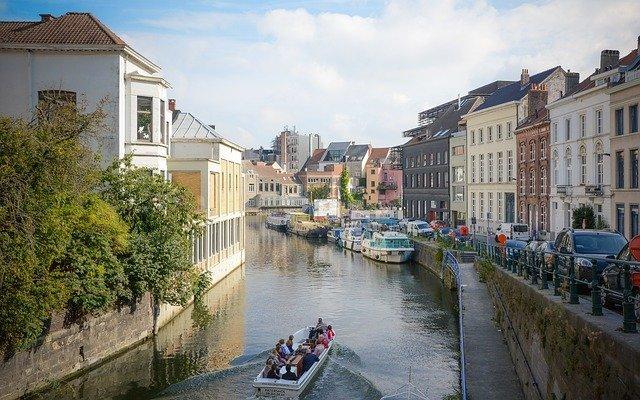 Fietstip in België fietsen door Gent
