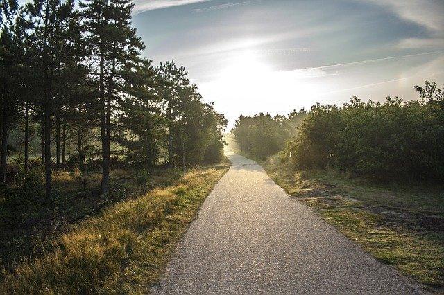 Fietstip in Nederland fietstochten op het eiland Ameland