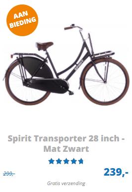 Spirit transporter omafiets 28 inch